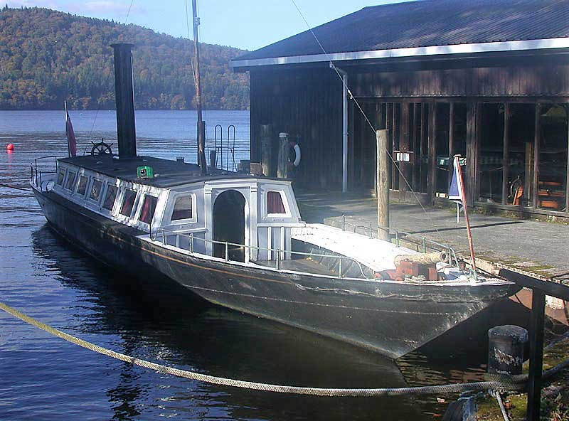 image of TSSY Esperance at the Windermere Steamboat Museum in the Lake District