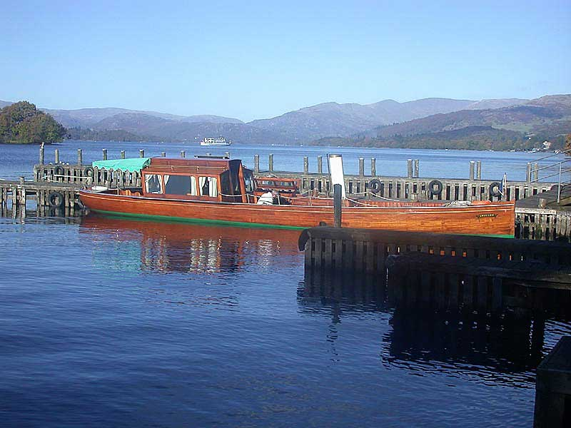 image of SL Swallow - currently undergoing major restoration at the Windermere Steamboat Museum in the Lake District