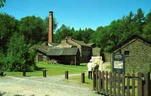 image of Stott Park Bobbin mill, a small visitor attraction near Windermere in the lake district
