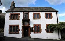 image of The Old Grammar School museum at Hawkshead in the lake district