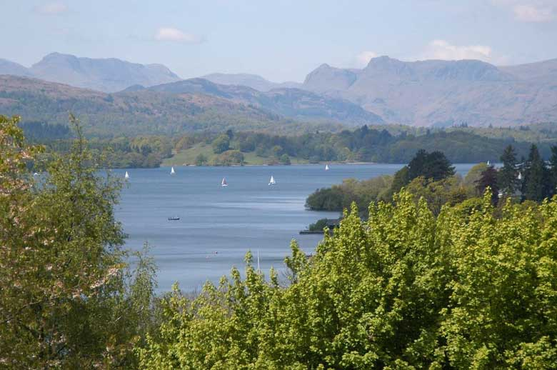 image of Windermere in the Lake District