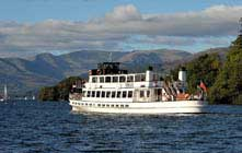 image of a windermere lake cruises boat trips on windermere lake in the lake district