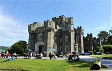 image of wray castle which has lots of things to do in windermere on a rainy day in the lake district