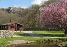 image of lake district holiday lodges at eskdale