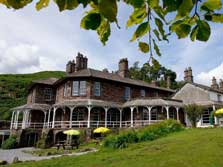image of the YHA Langdale, one of the Lake District hostels near Ambleside