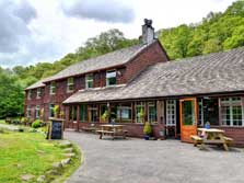 image of a hostel in Borrowdale near Keswick in the Lake District