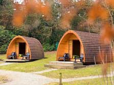 image of Lake District glamping pods at Hawkshead YHA