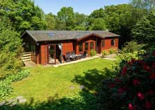 image of Newby Bridge Country Park lodges near Windermere in the Lake District