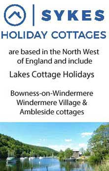 image of Sykes Windermere cottages in the Lake District