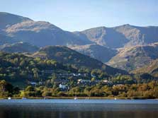 image of coniston water for boat hire on coniston