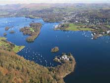 image of Windermere lake for water sports activities at Low Wood Bay
