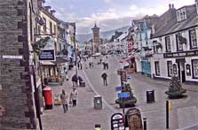 image of the Market Place in Keswick webcam