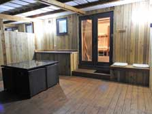 image of glamping lodges in the lake district
