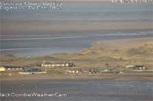 image of black combe webcam on Walney Island