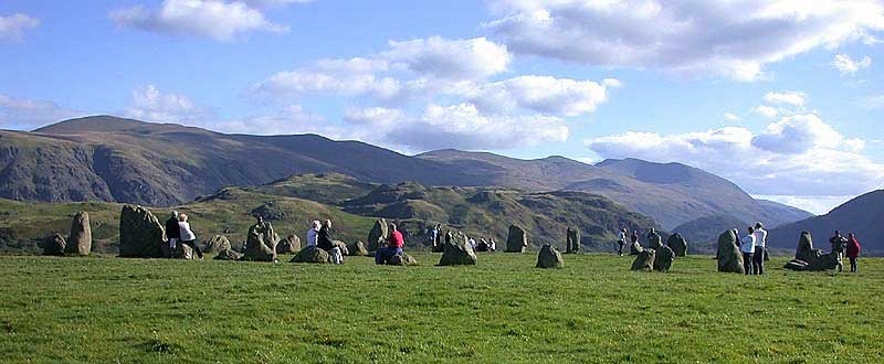 image of Castlerigg Stone Circle near Keswick in the Lake District