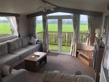 image of caravan holiday accommodation in Gilcrux