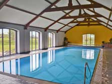 image of a swimming pool at holiday cottages in Gilcrux