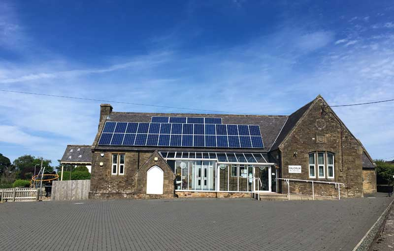 image of Gilcrux village hall in Cumbria