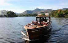 image of the Keswick Launch on Derwentwater