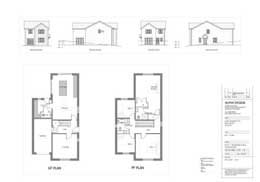 image of building plans for a building site for sale in Gilcrux  the Lake District