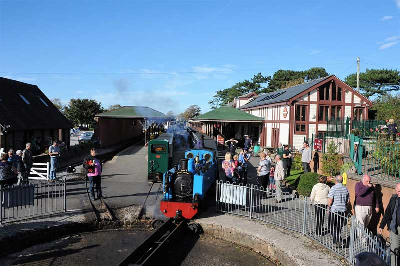image of the Ravenglass and Eskdale Railway station