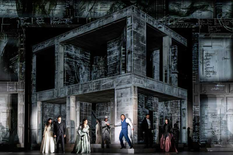 image of the stage set of Don Giovanni for What's On in Keswick and the Lake District events