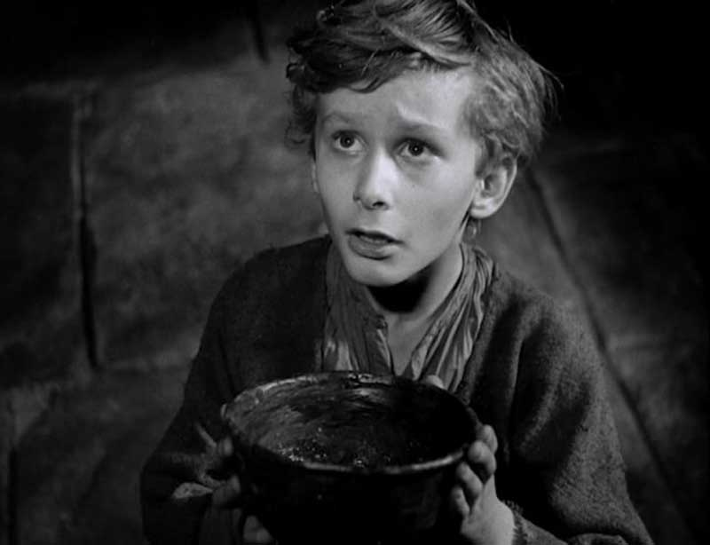 image of Oliver Twist at a Film and Dine event in Bowness-on-Windermere