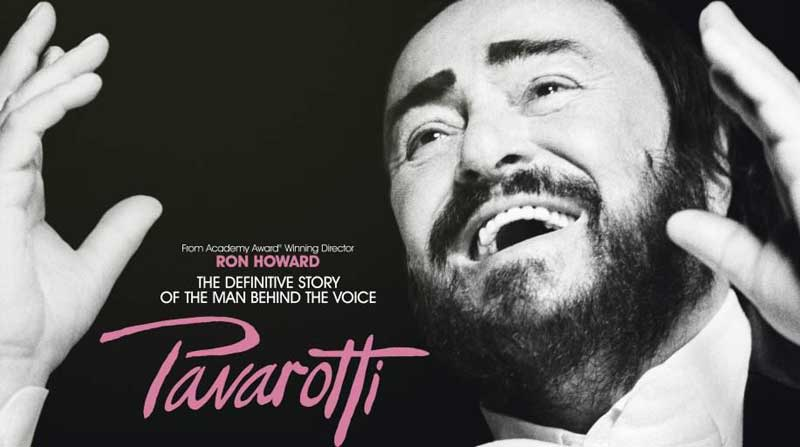 image of Pavarotti, one of the events listed in the What's On in Keswick pages