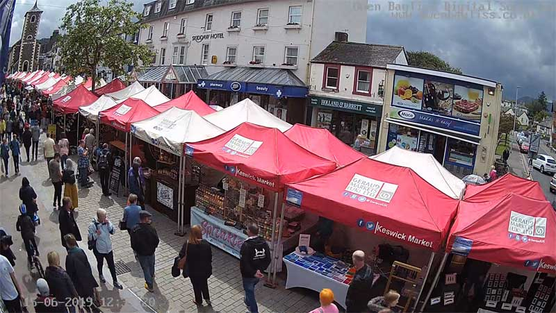 image of Keswick Market Square