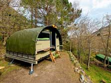 image of Land Pods at a Lake District Glamping site at YHA Helvellyn