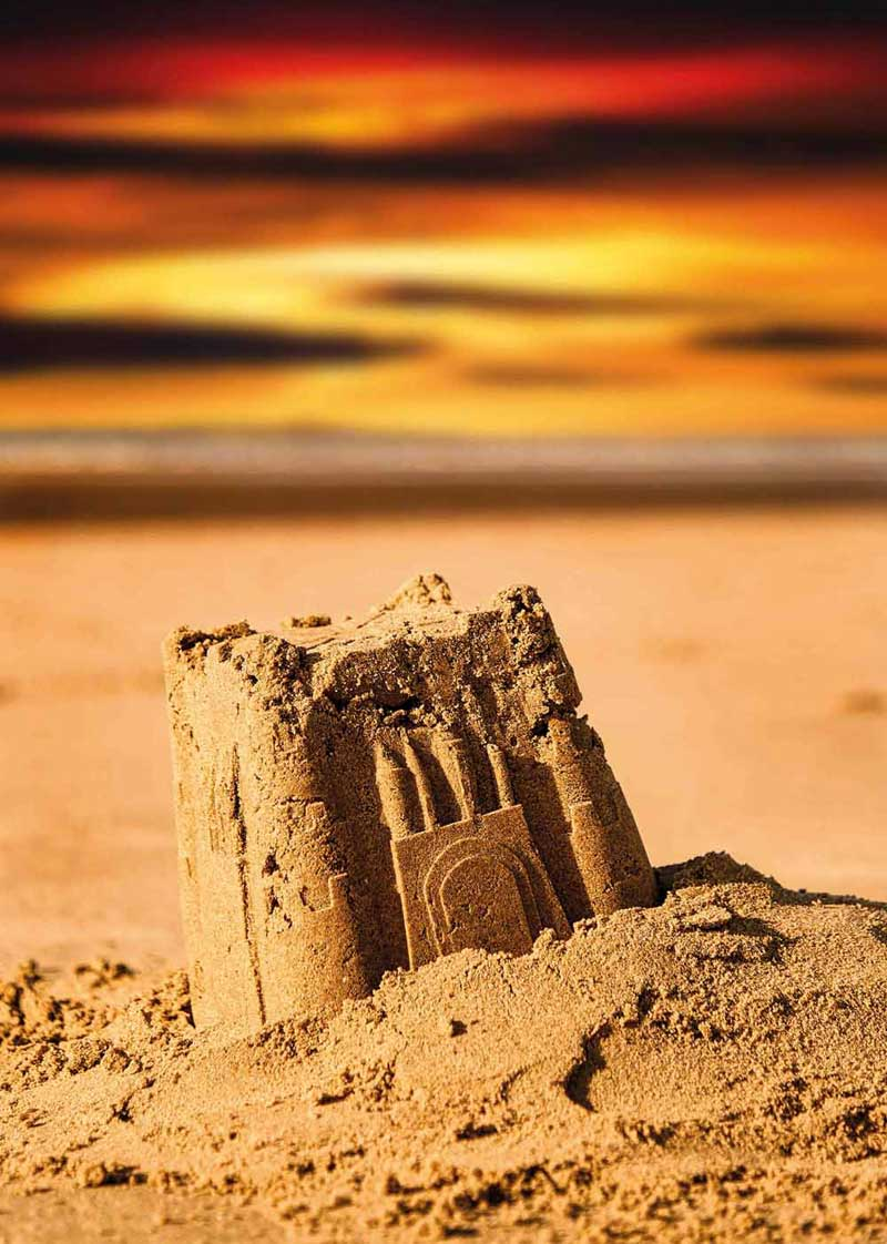 image of a sandcastle for what's on in keswick theatre events