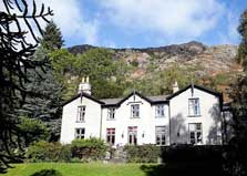 image of the hostel at Coniston which provides Lake District tent camping pitches