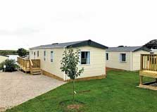 image of a caravan at North Lakes Lake District holiday parks