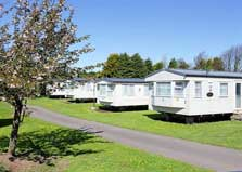 image of pet friendly caravans at Seven Acres holiday park in the Lake District