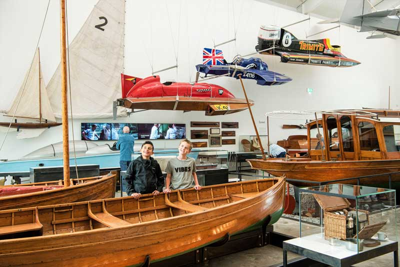 image of Windermere Jetty Museum of Boats, Steam and Stories, formerly known as Windermere Steamboat Museum, an attraction in the Lake District