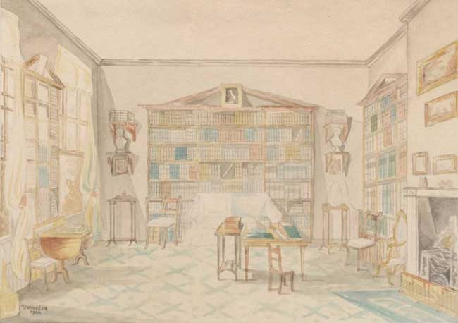 image of the Cottonian Library for Winter Reflections events at Dove Cottage, Grasmere