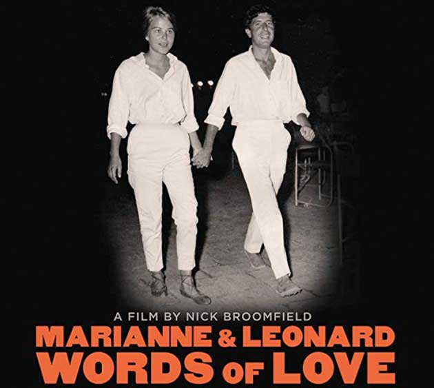 image of film poster for Marianne and Leonard, Words of Love