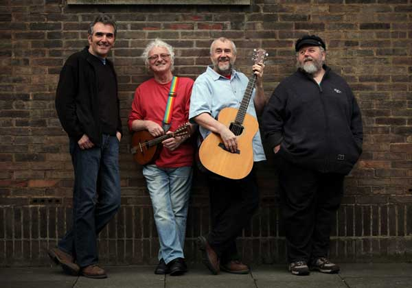 image of the Pitmen Poets to perform at a music event in Keswick Theatre by the Lake
