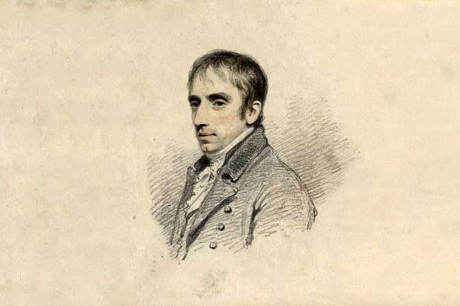image of William Wordsworth in the Lake District years