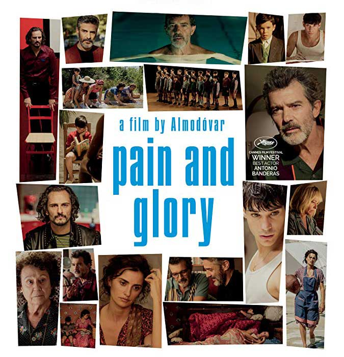 image of the film pain and glory at Keswick, The Lake District