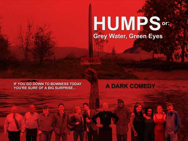 image of a film event poster for Humps or Grey Water Green Eyes filmed at Bowness on Windermere