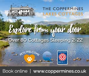image of lake district cottages at the coppermines