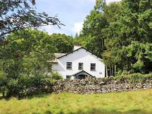 image of a family friendly cottage in the lake district at Coniston