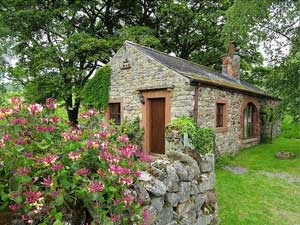 image of an award winning romantic cottages for two in the Lake District