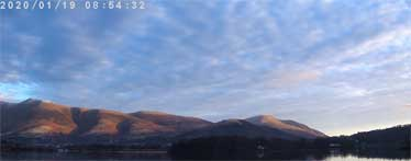 image of the view from Lingholm Estate near Portinscale looking over Derwentwater towards Keswick