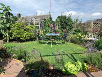 image of a landscaped garden near Cockermouth