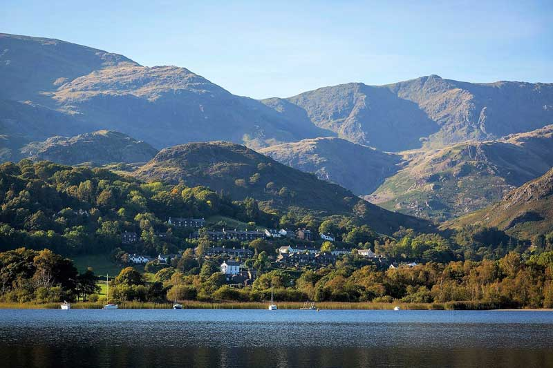image of Coniston Water in the Lake District