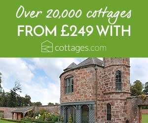 image of cottages com holiday cottages banner