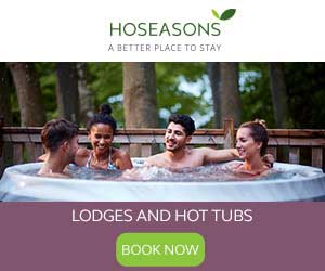 image of hoseasons holiday lodges banner